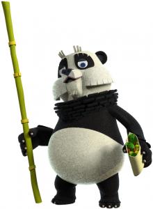Nieuwe bewoner Peter Panda uit de Fabeltjeskrant